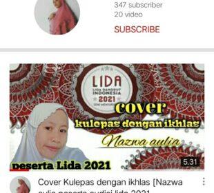 Official akun YouTube Nazwa Aulia