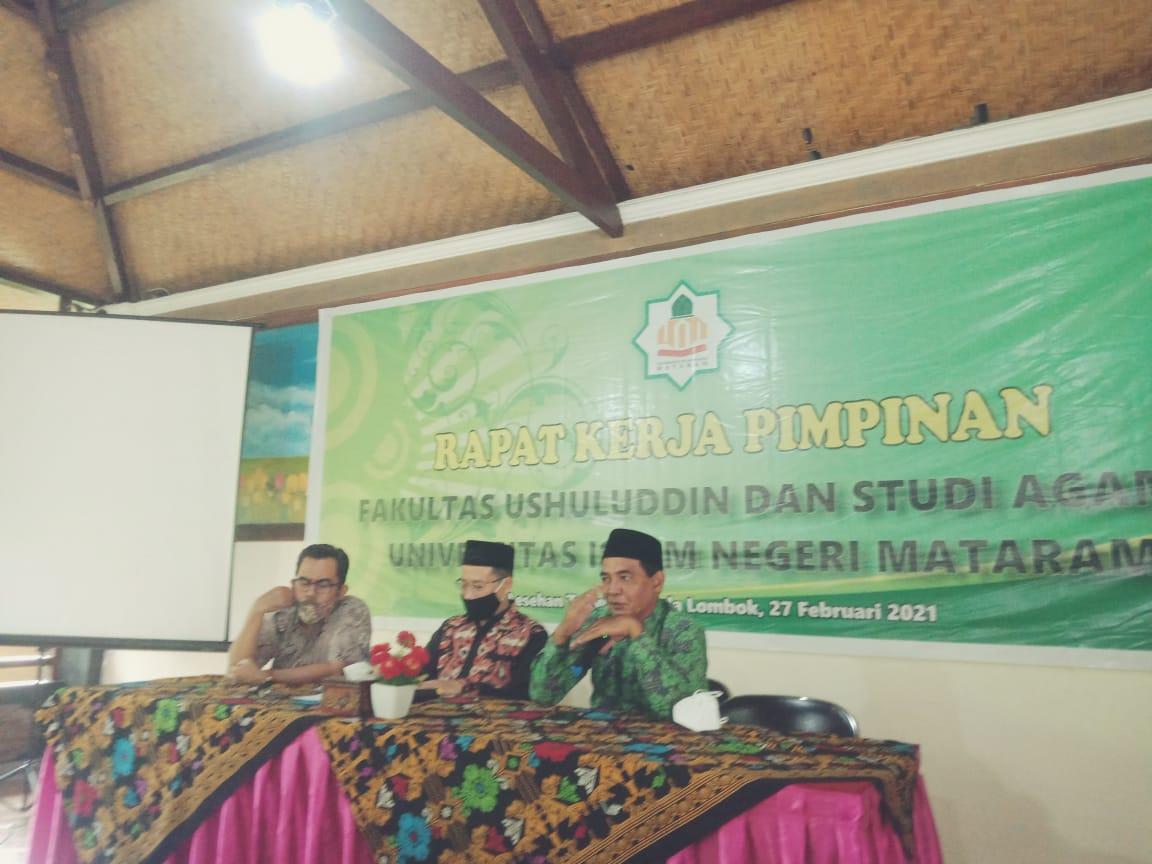Pimpinan Fakultas Ushuludin Dan Studi Agama